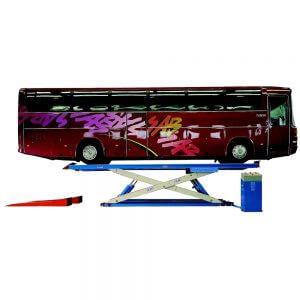 מתקן הרמה לאוטובוס